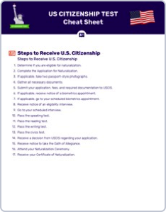 image about Printable Citizenship Test named United states of america Citizenship
